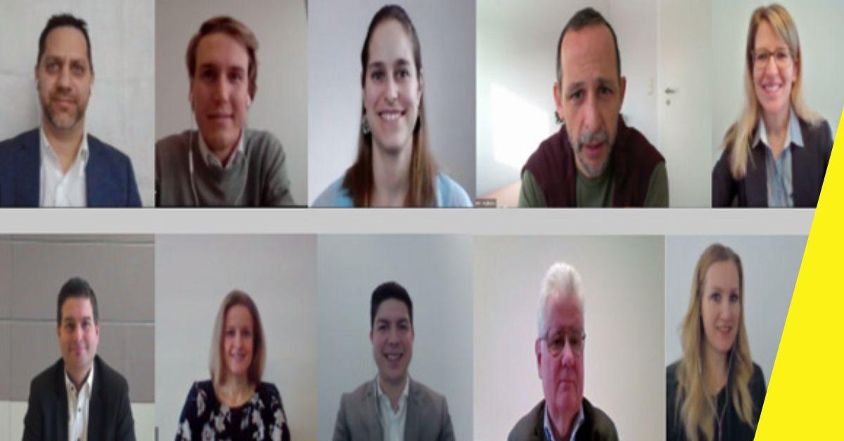 Online-Karrieretalk: Die Experten informierten per Skype